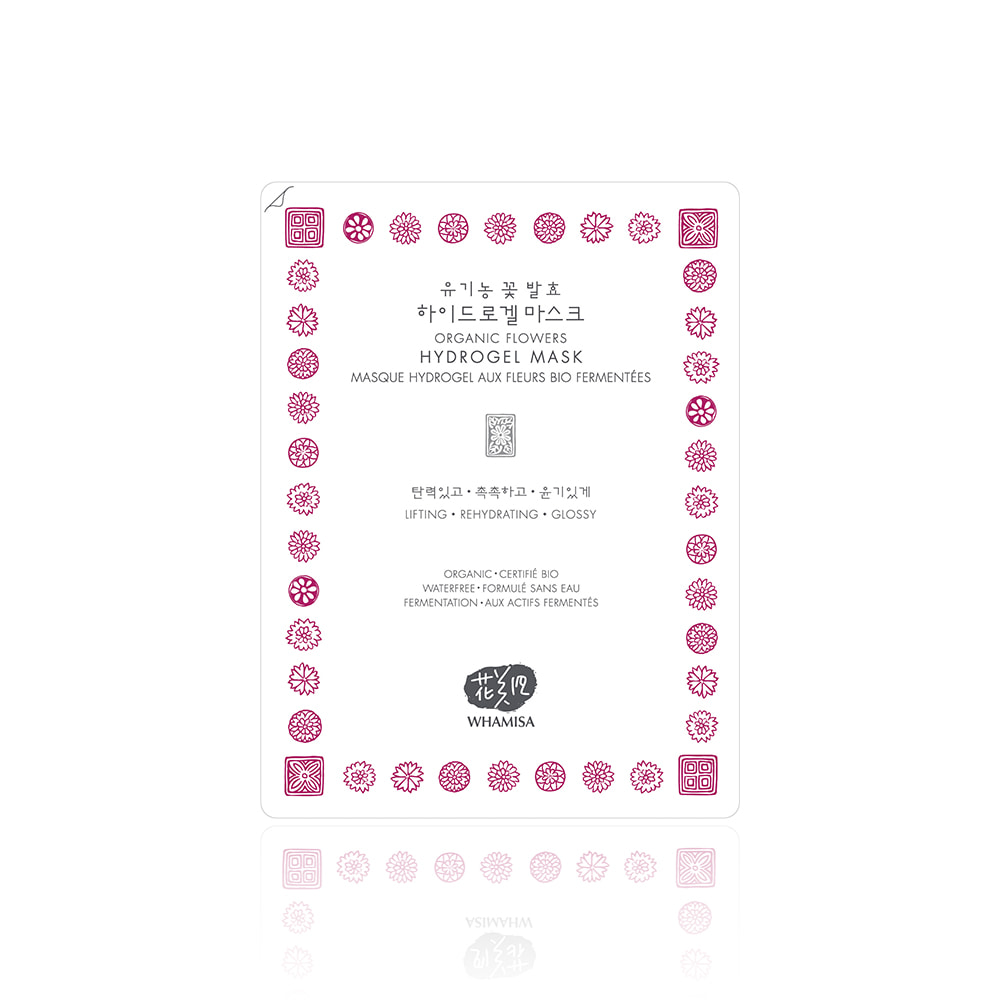EVENT★[WHAMISA] Organic Flower Hydrogel Mask Pack