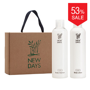 [NEWDAYS] Egg Milk Body Lotion & Cleanser