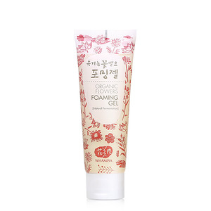 [WHAMISA] Organic Flowers Foaming Gel 133g