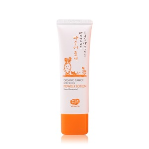 [WHAMISA] Organic Carrot Baby&Kids Powder Lotion