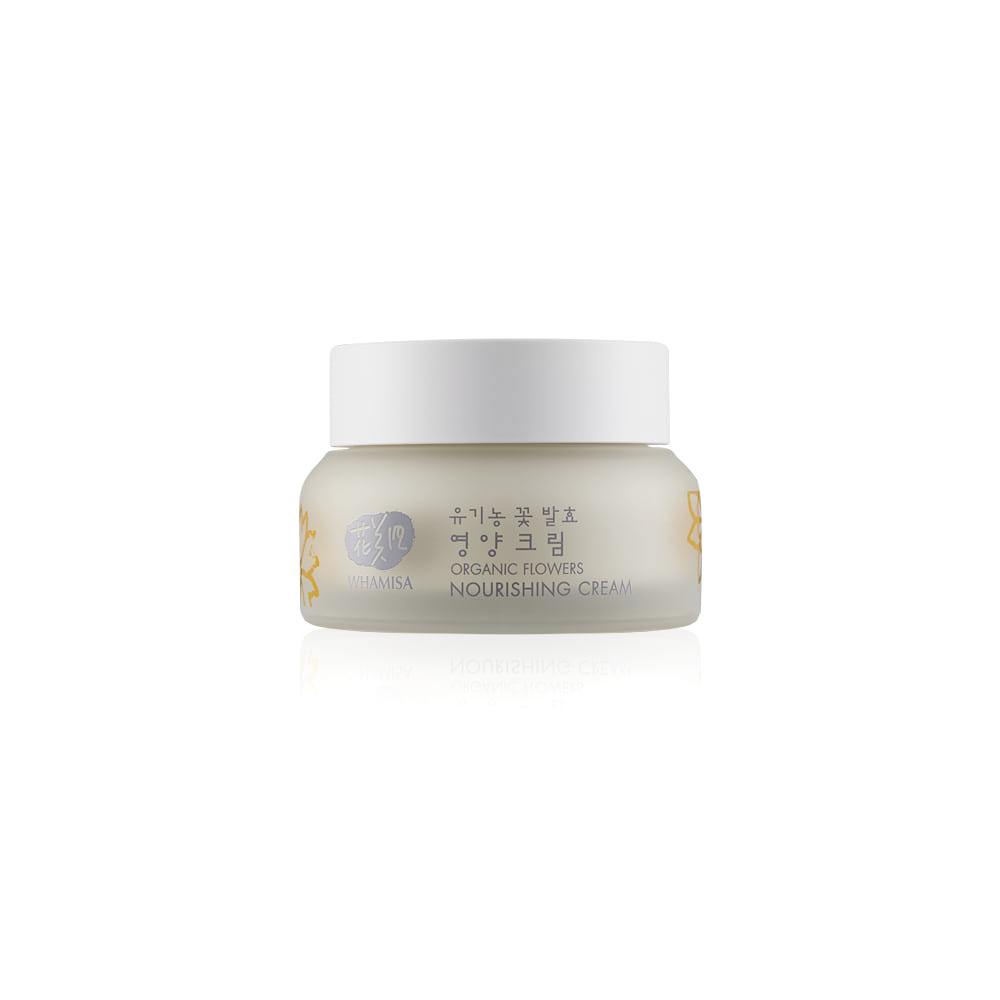 [WHAMISA] Organic Flower Nourishing Cream