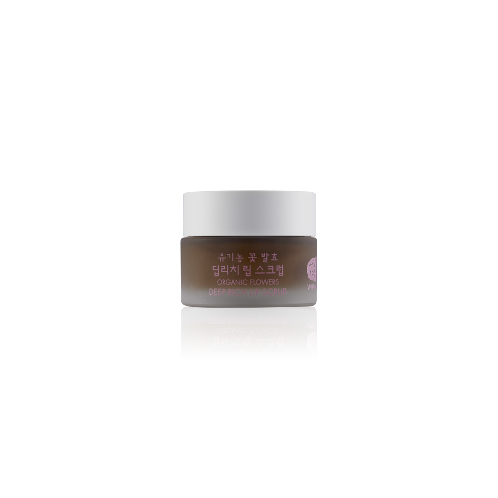 [WHAMISA] Organic Flowers Deep Rich Lip Scrub