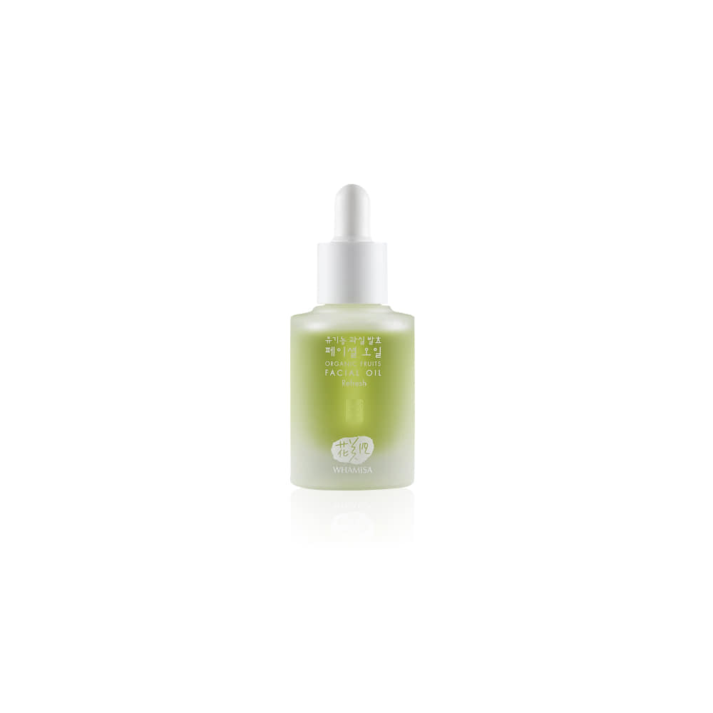 [WHAMISA] Organic Flower Facial Refresh Oil