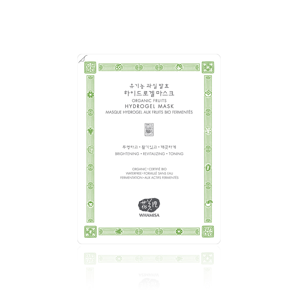 EVENT★[WHAMISA] Organic Fruit Hydrogel Mask Pack