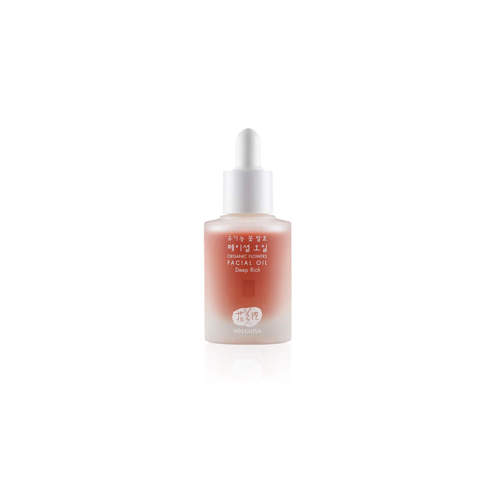 [WHAMISA] Organic Flower Facial Deep Rich Oil