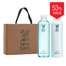 [NEWDAYS] Sea Salt Body Lotion & Cleanser