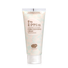 [WHAMISA] Organic Flower Foam Cleansing Cream