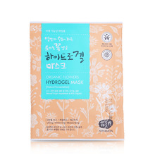 [WHAMISA] Organic Flower Hydrogel Mask Pack